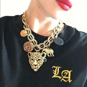 Babe cheetah necklace